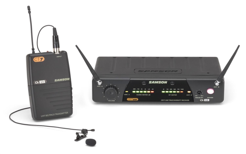 Samson SW77VSLM - bezdrátový mikrofonní systém