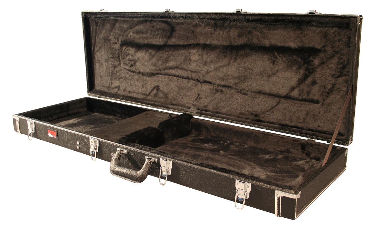 Gator GW-Bass - Luxusní, laminovaný, dřevěný kufr na basu