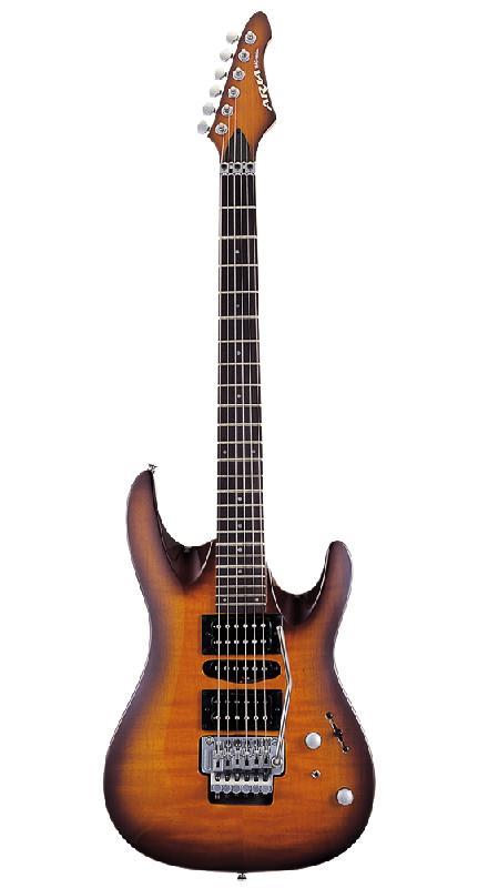 Aria MAC45 DCS - elektrická kytara-zboží bylo vystaveno na prodejně
