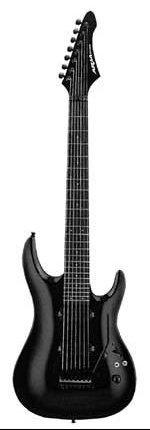 Aria MAC57/7 - 7 str. elektrická kytara-zboží bylo vystaveno na prodejně