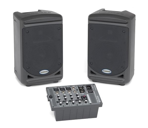 Samson XP150 - kompletní ozvučovací sestava