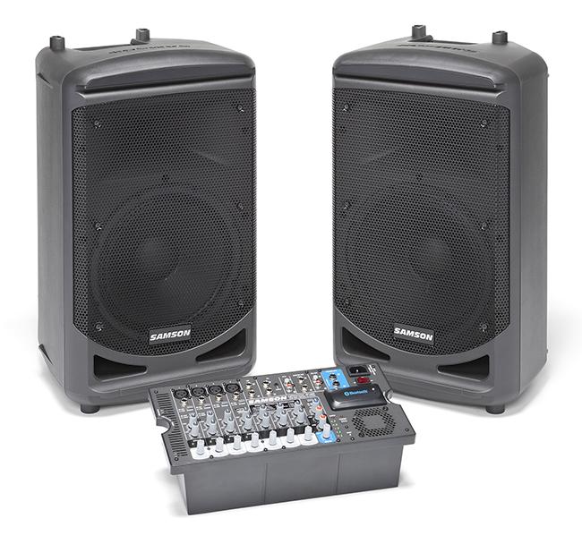 Samson XP1000 - kompletní ozvučovací sestava