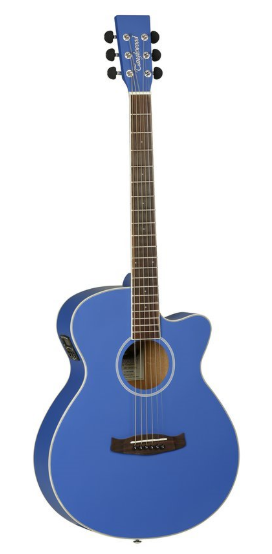 Tanglewood DBT-SFCE-BL-M  elektroakustická kytara