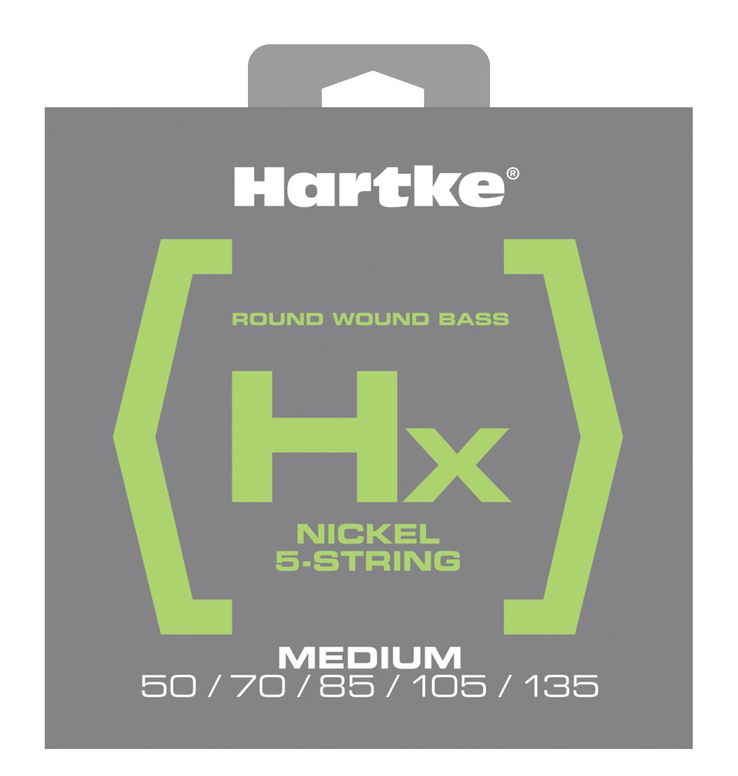 Hartke HX550 - Struny na baskytaru