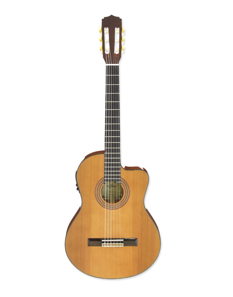 Aria A-35CE - klasická kytara