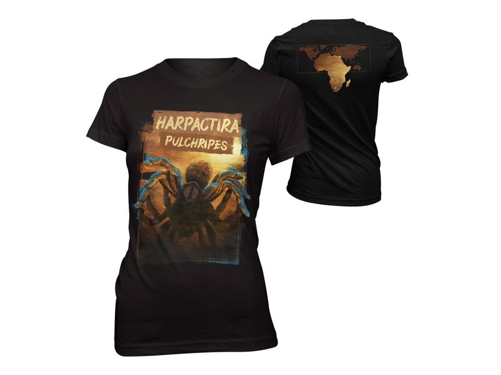Dámské tričko předek + zadek