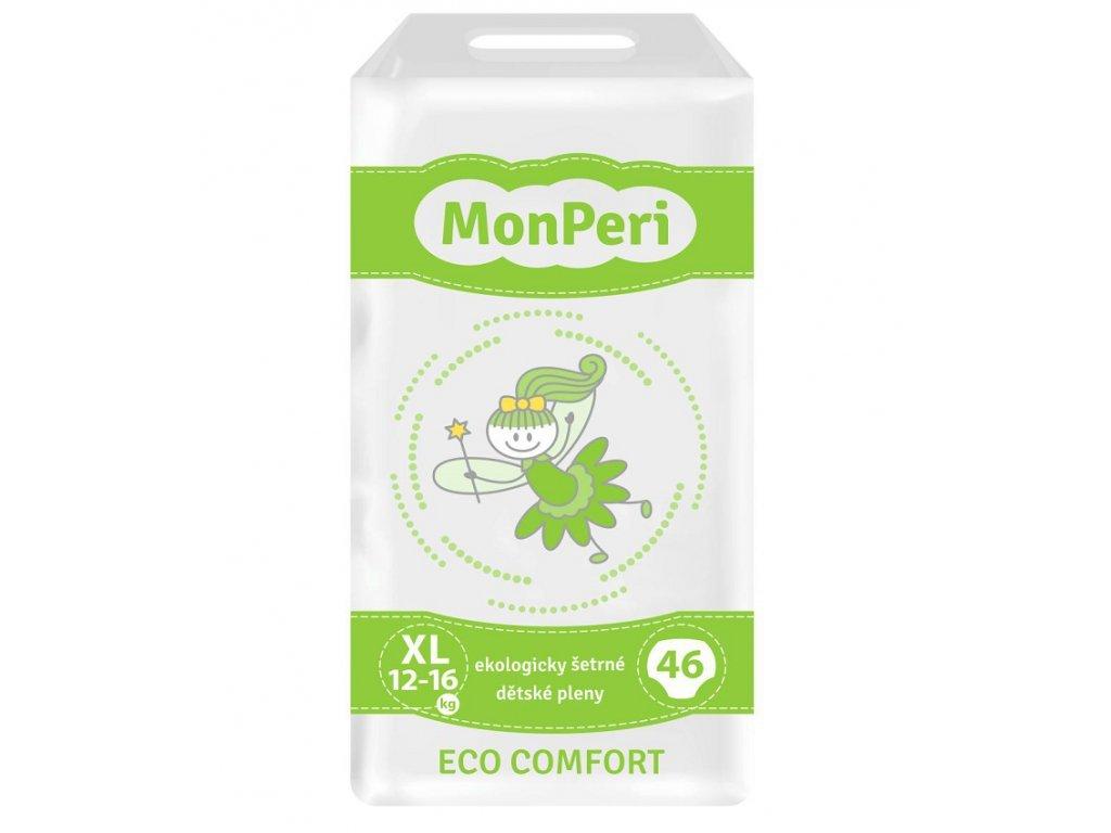 80 monperi eco comfort xl 12 16 kg 46ks eko jednorazove detske plenky velikost 5