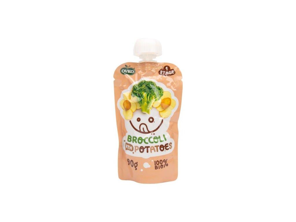 Příkrm brokolice, brambory 90 g BIO OVKO