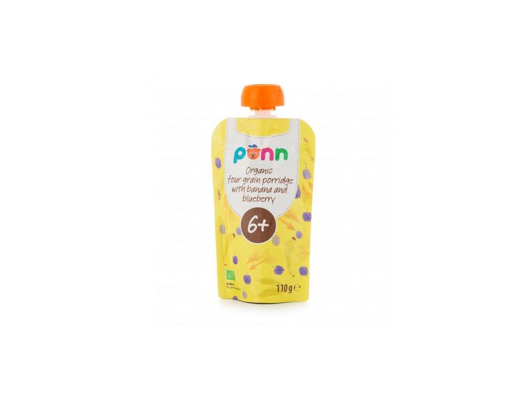 995 salvest ponn bio banan s boruvkou a obilnymi vlockami 110 g