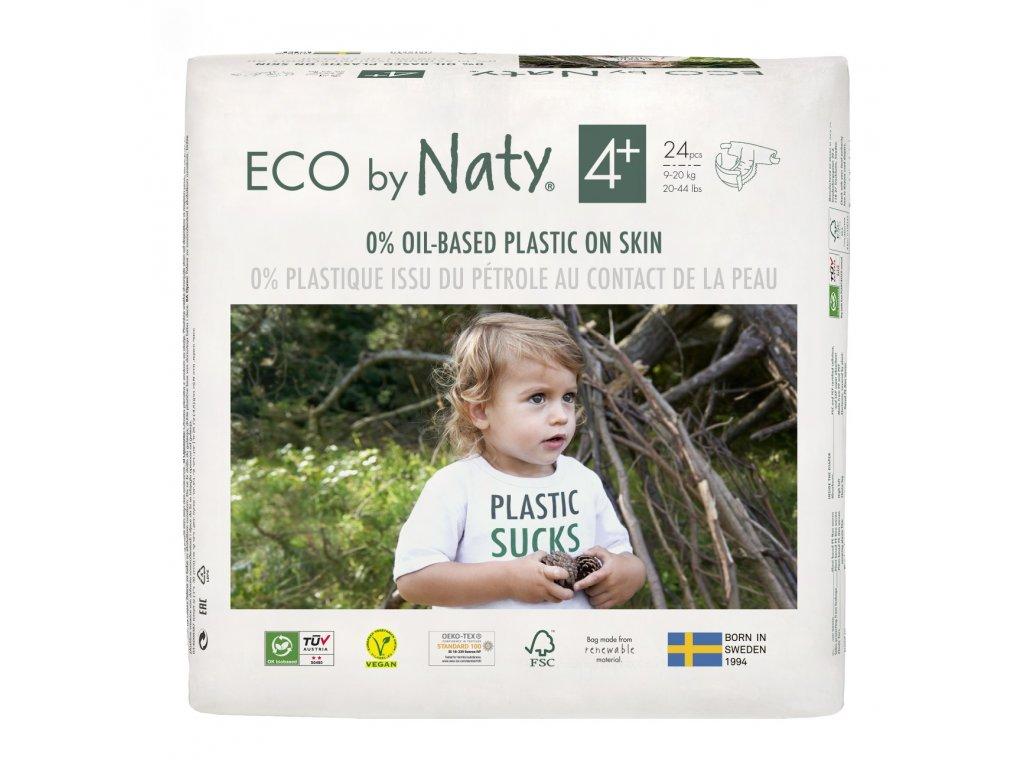 Plenky Eco by Naty Maxi+ 9-20 kg (24 ks) vel.4+