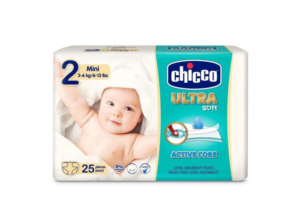 Jednorázové pleny Chicco Ultra Mini 3-6kg 25ks (vel.2)