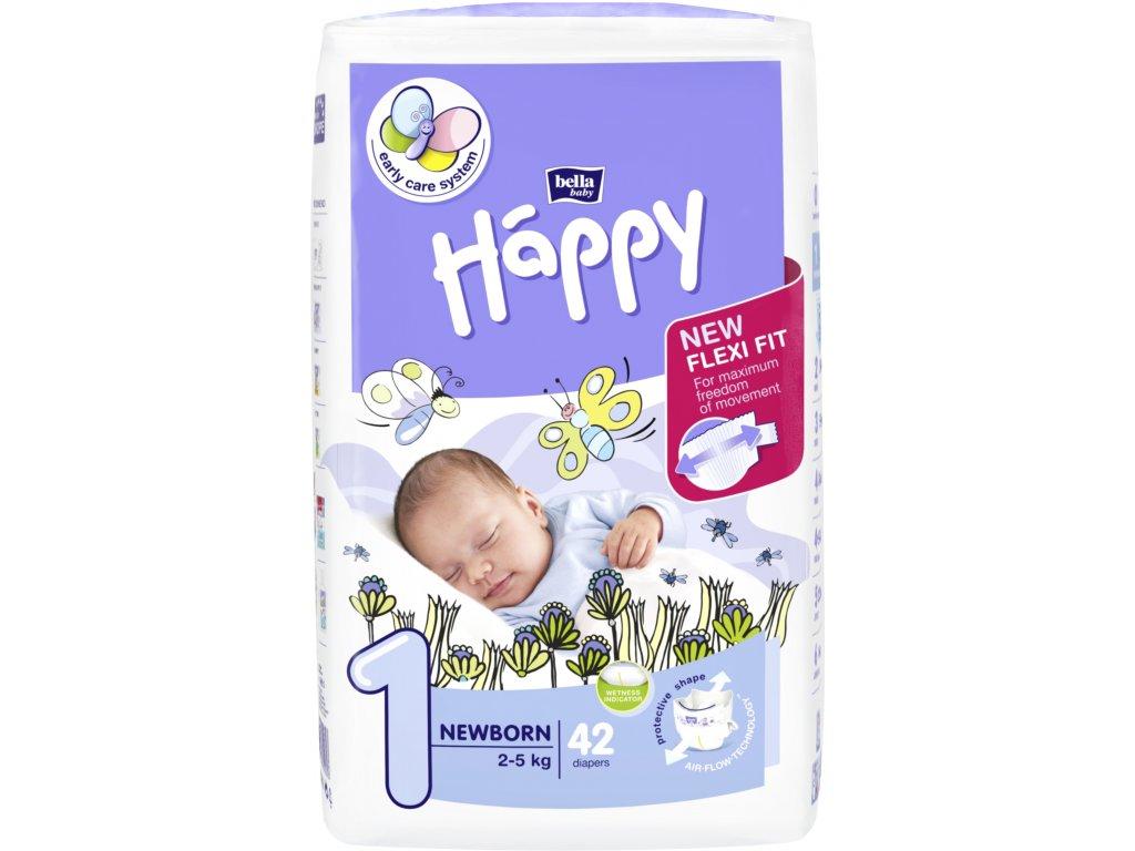 Bella Happy Newborn 2-5 kg 42 ks