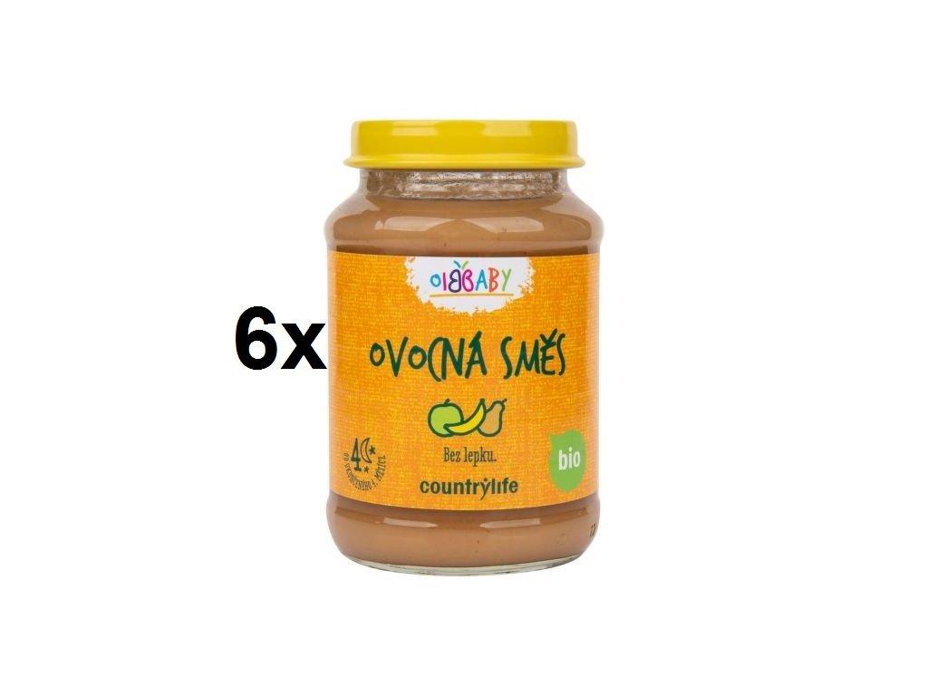 Příkrm ovocná směs 6x190 g BIO COUNTRY LIFE