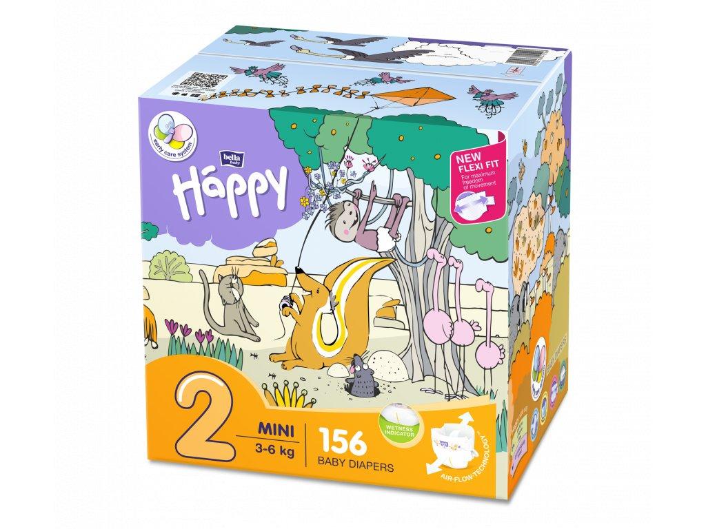 Plenky Bella Baby Happy mini box 3-6 kg 156 ks