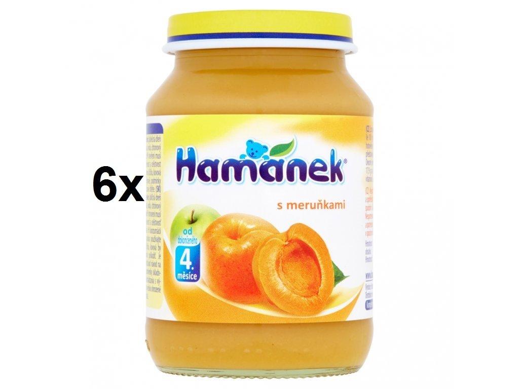 Hamánek s meruňkami 6x190g
