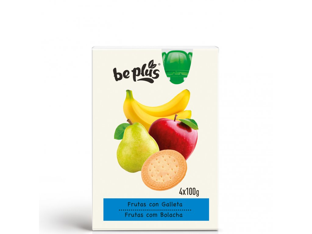 Fruits with Biscuit 4x100g