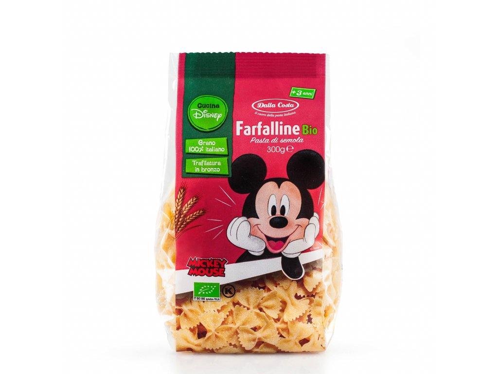 Dalla Costa BIO Těstoviny Disney Mickey Farfalline 300 g