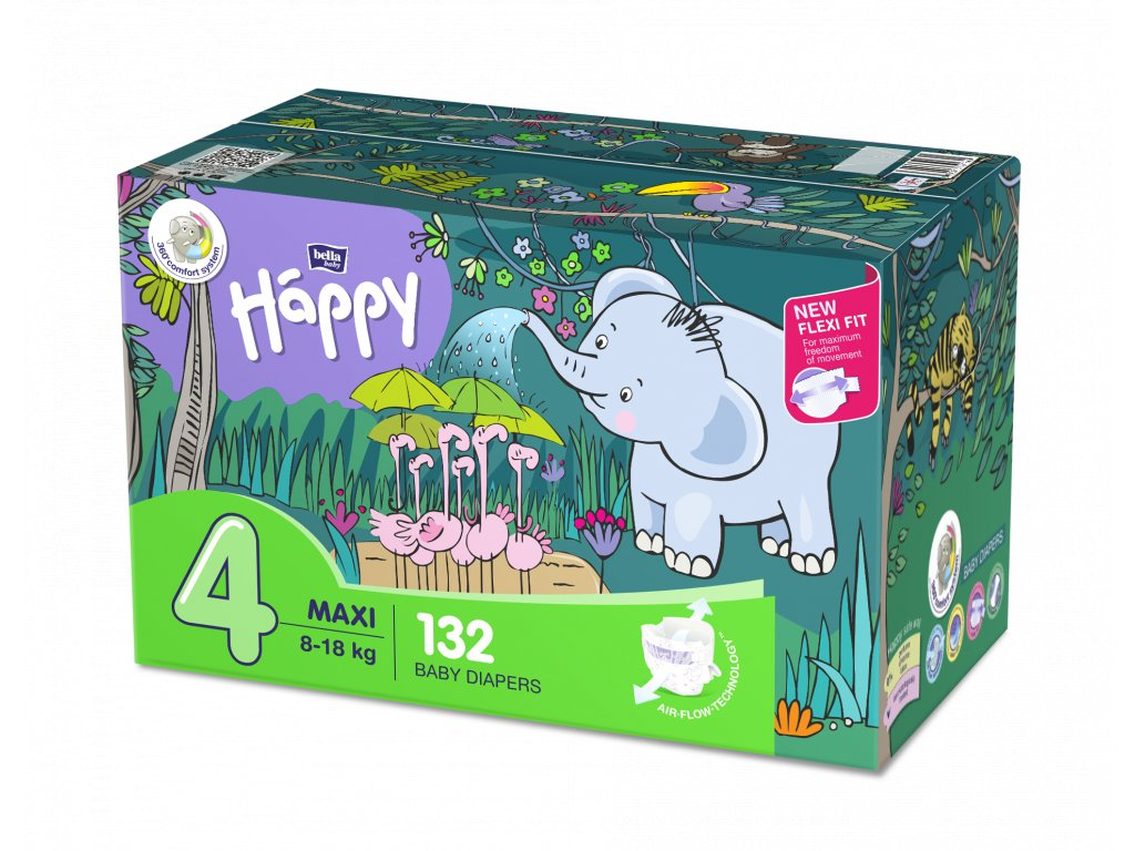 Plenky Bella Baby Happy Maxi box 8-18 kg 132ks