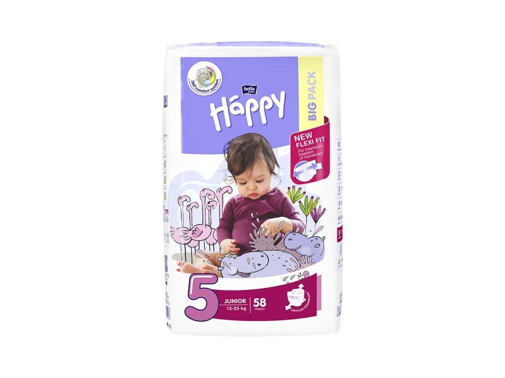 Bella Happy Junior Big Pack 12-25 kg 58 ks