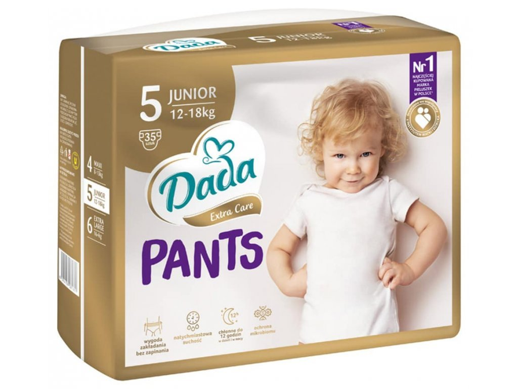 Dada Pantsy Extra care 5 - 12-18 kg 35 ks