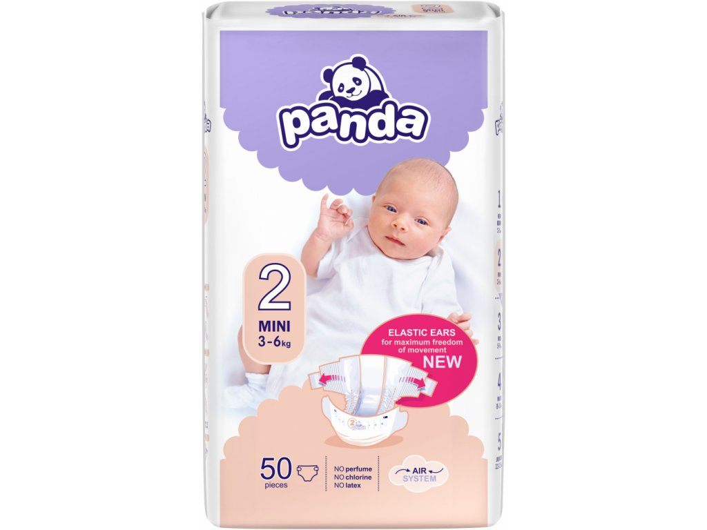 Bella Panda 2 mini 3-6 kg 50 ks(vel.2)