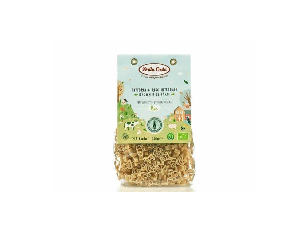 Dalla Costa Dětské těstoviny rýžové Farma BIO 250 g