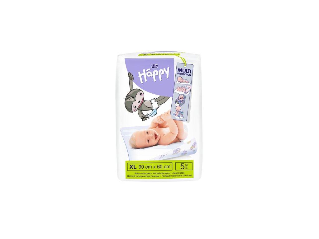 Bella Baby Happy přebalovací podložky 60 x 90 5 ks