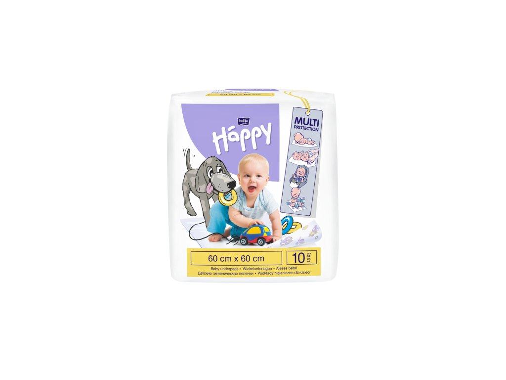 Happy dětské hyg.podložky 60x60 10 ks
