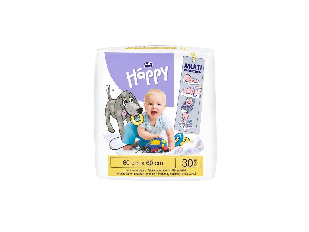 Bella Happy Přebalovací podložka 60 x 60 30 ks