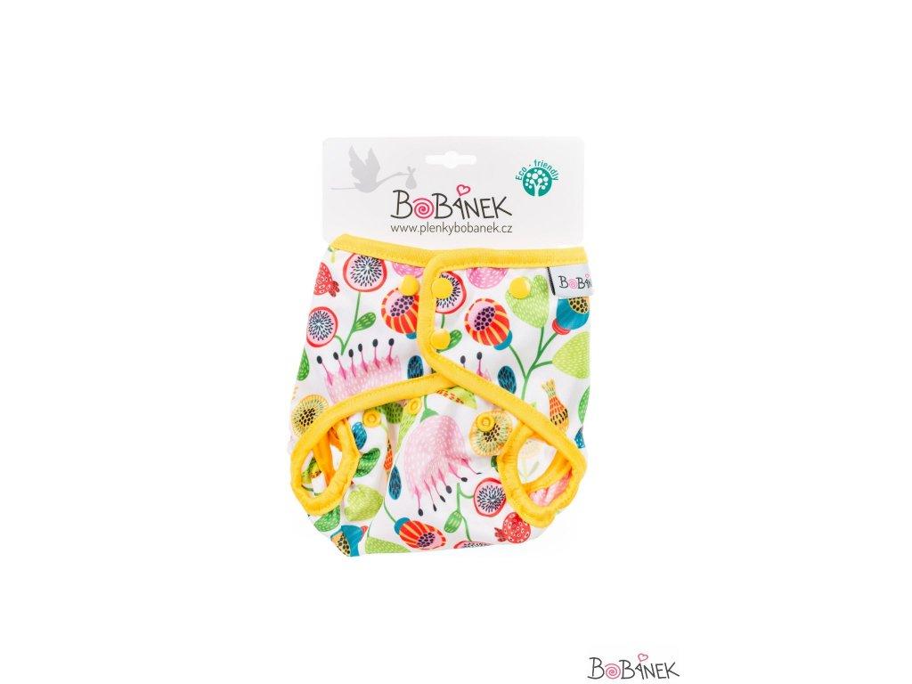 Bobánek Svrchní kalhotky patentky - Květiny