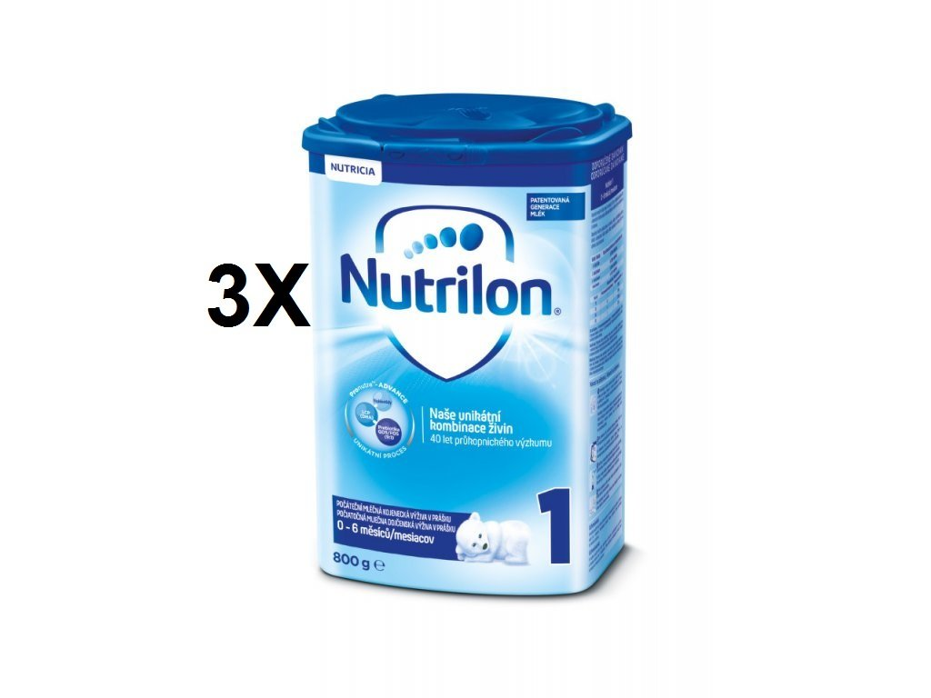 Nutrilon 1 3x800g