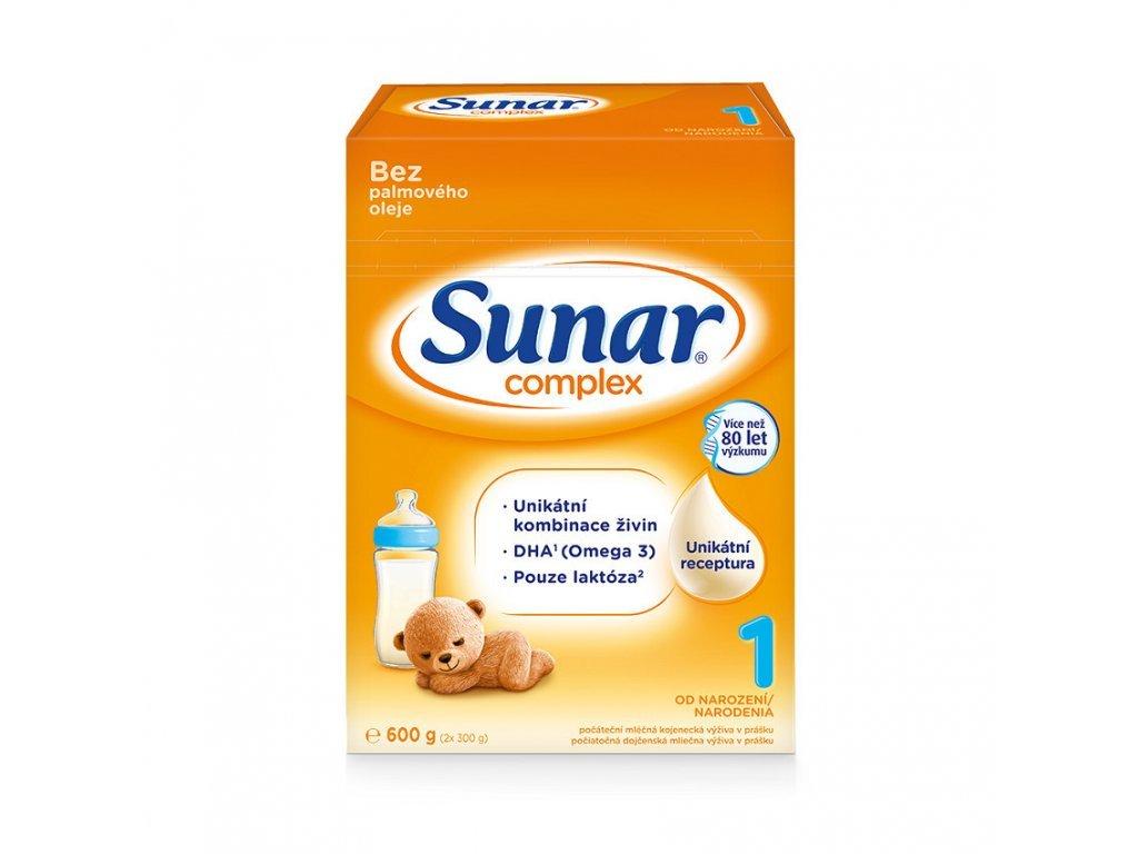 Sunar Complex 1 Počáteční kojenecké mléko 8×600 g