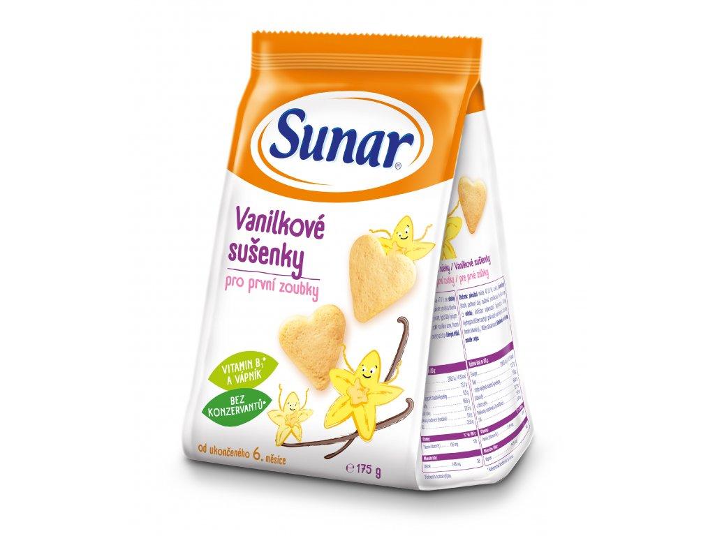 Sunar vanilkové sušenky 175g