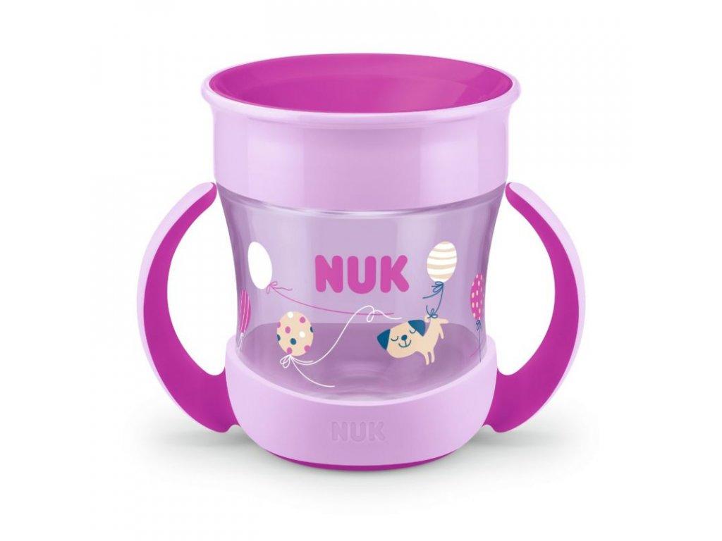 NUK Mini Magic Cup 160ml růžový