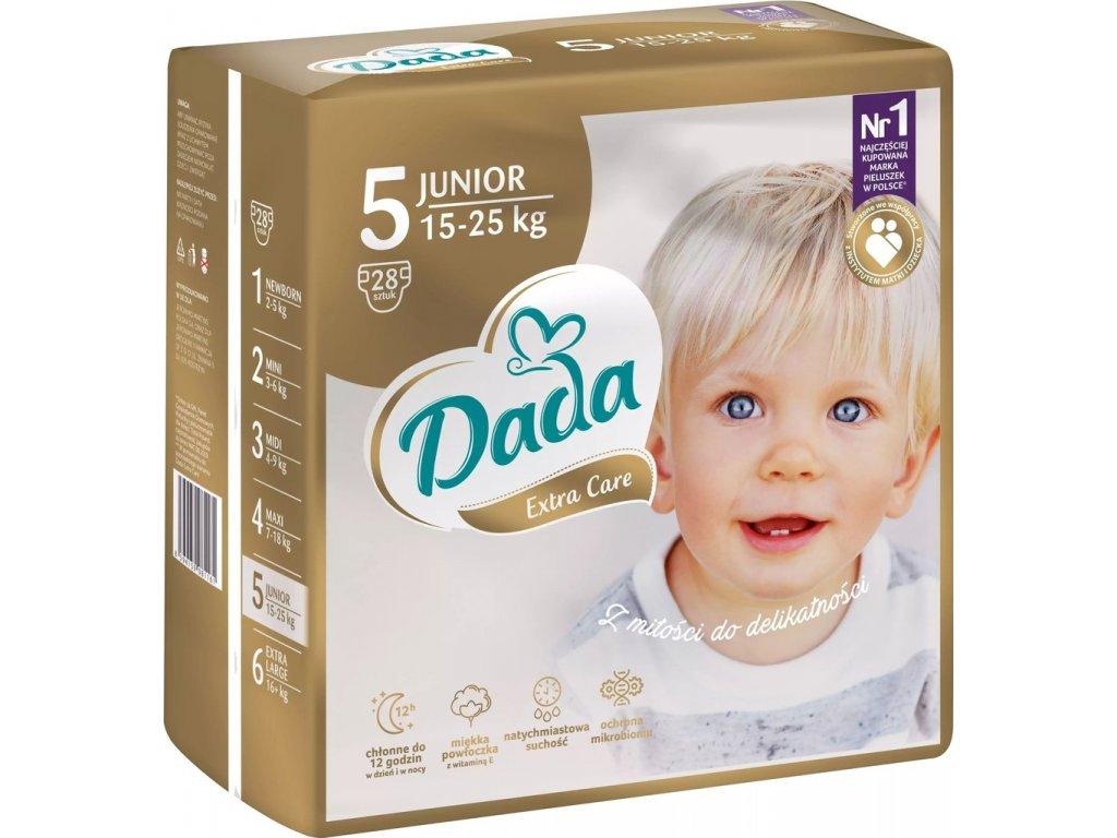 Dada Extra care 5 15-25 kg 28 ks