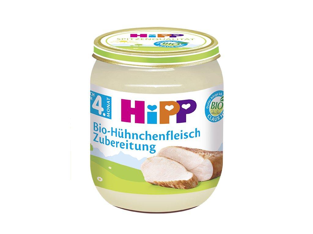 Příkrm HiPP BIO Kuřecí maso 125g