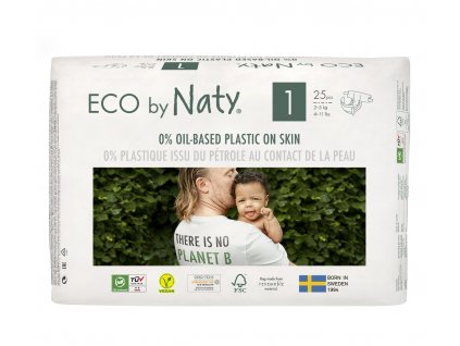 ECO BY NATY PLENKY NEWBORN 2-5 KG 25 KS (vel .1)