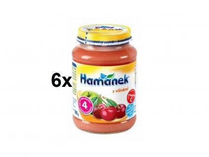 Hamánek s višněmi 6x190g