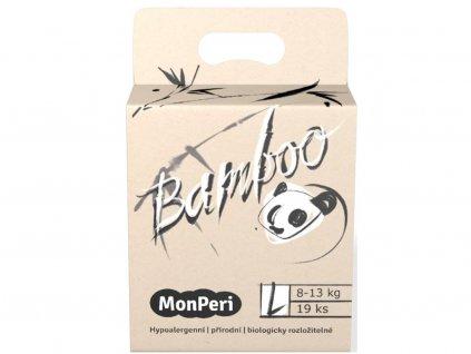 9317 monperi bamboo l 8 13 kg 19ks eko detske bambusove jednorazove plenky velikost 4