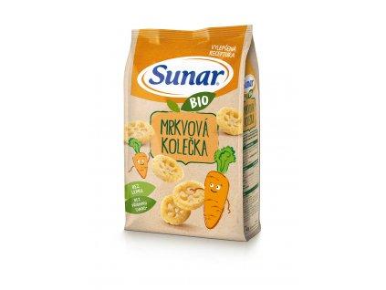 Sunar BIO křupky Mrkvová kolečka 45g