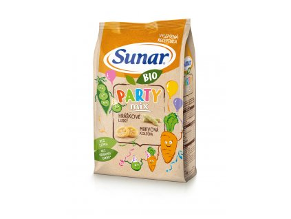 Sunar BIO křupky Party mix 45g