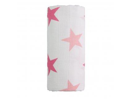 velka bavlnena tetra osuska pink stars ruzove hvezdicky