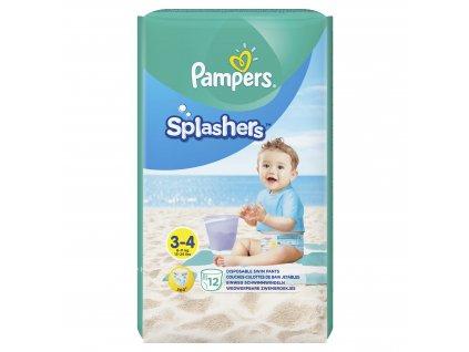 Pampers kalhotkové plenky Splashers Carry Pack S3 12ks 8001090698346