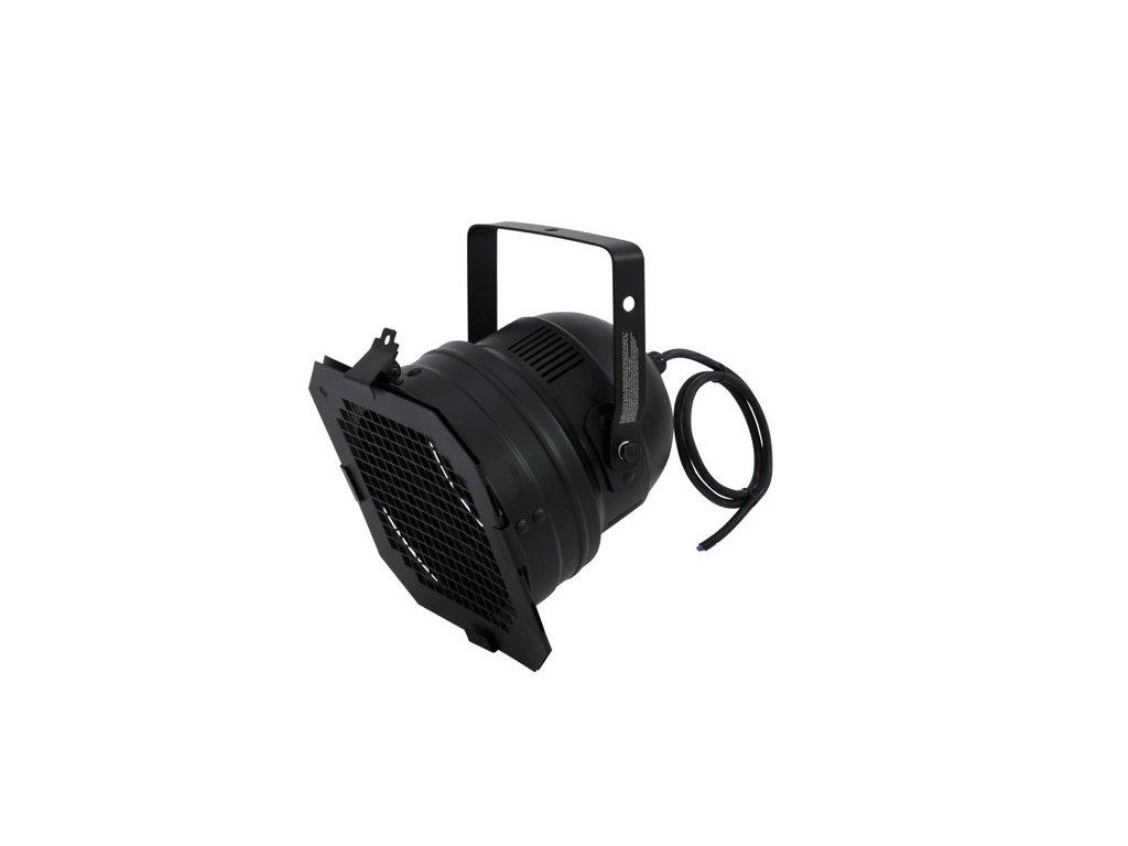 PAR 56, černý, krátký reflektor