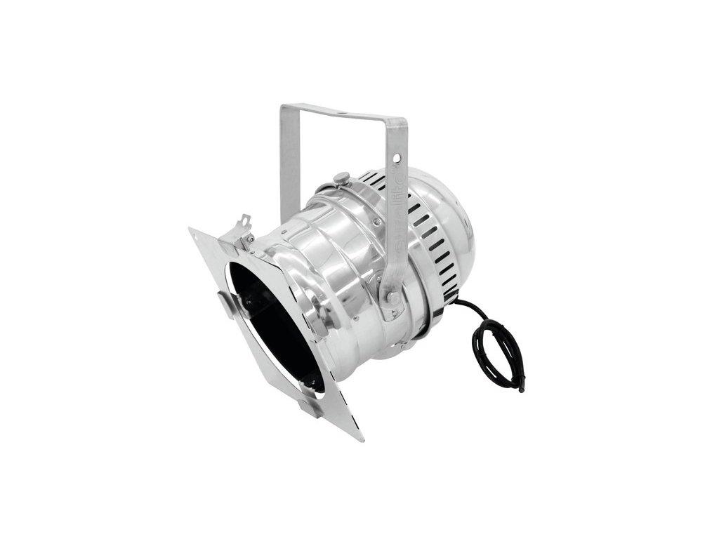 PAR 64, stříbrný, krátký reflektor