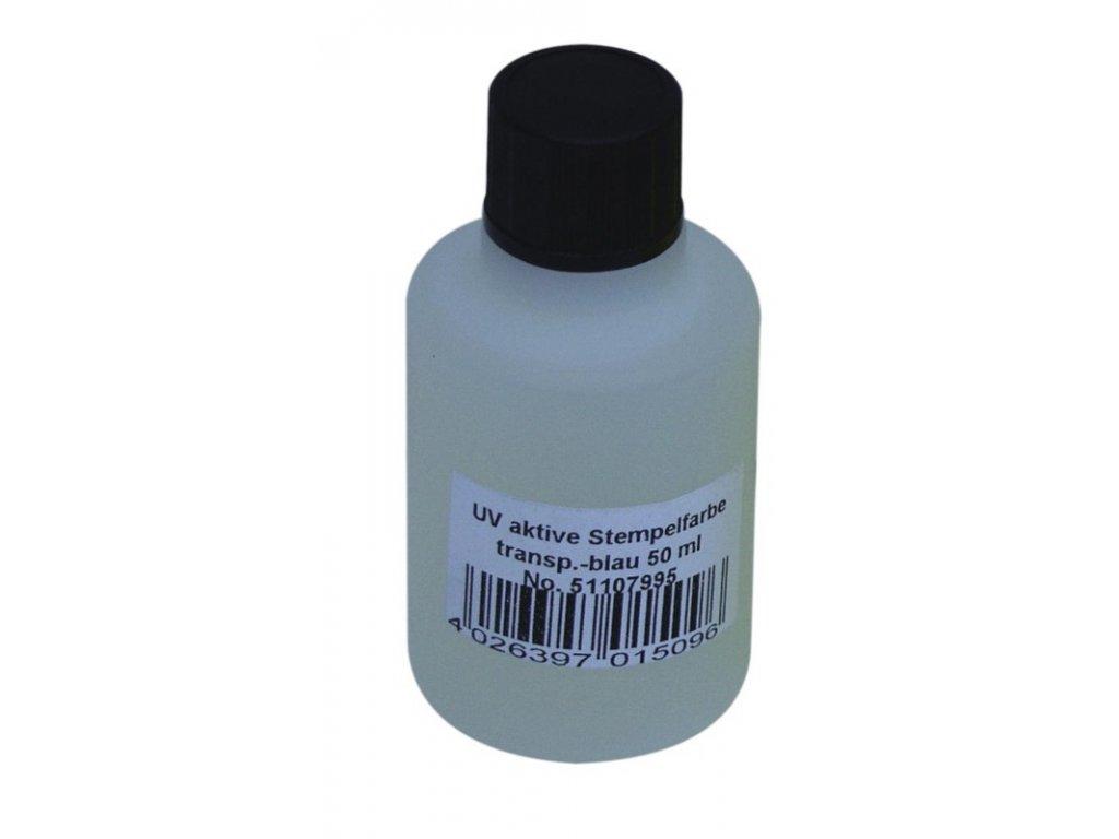 UV razítkovací barva 50 ml, modrá