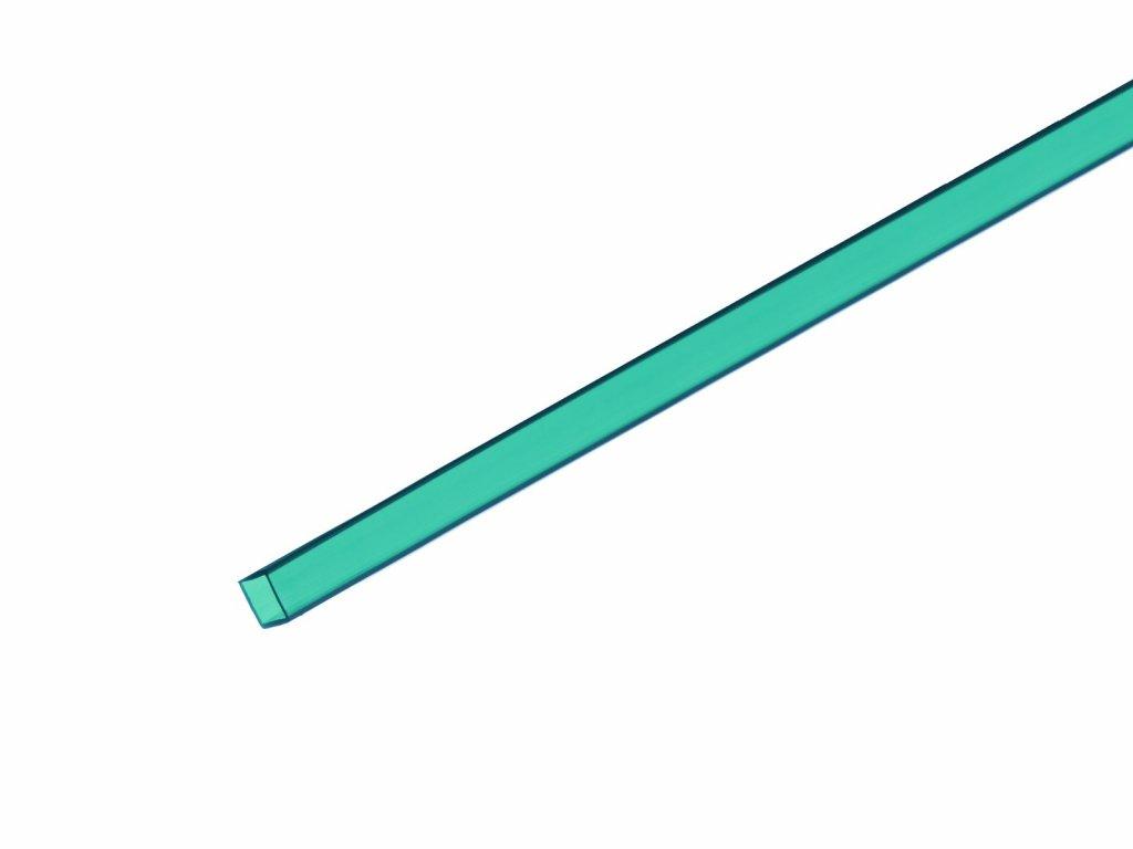 Profil 10x10mm, tyrkysový