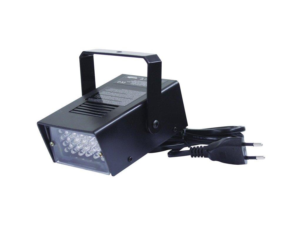 Disco strobe LED bílé