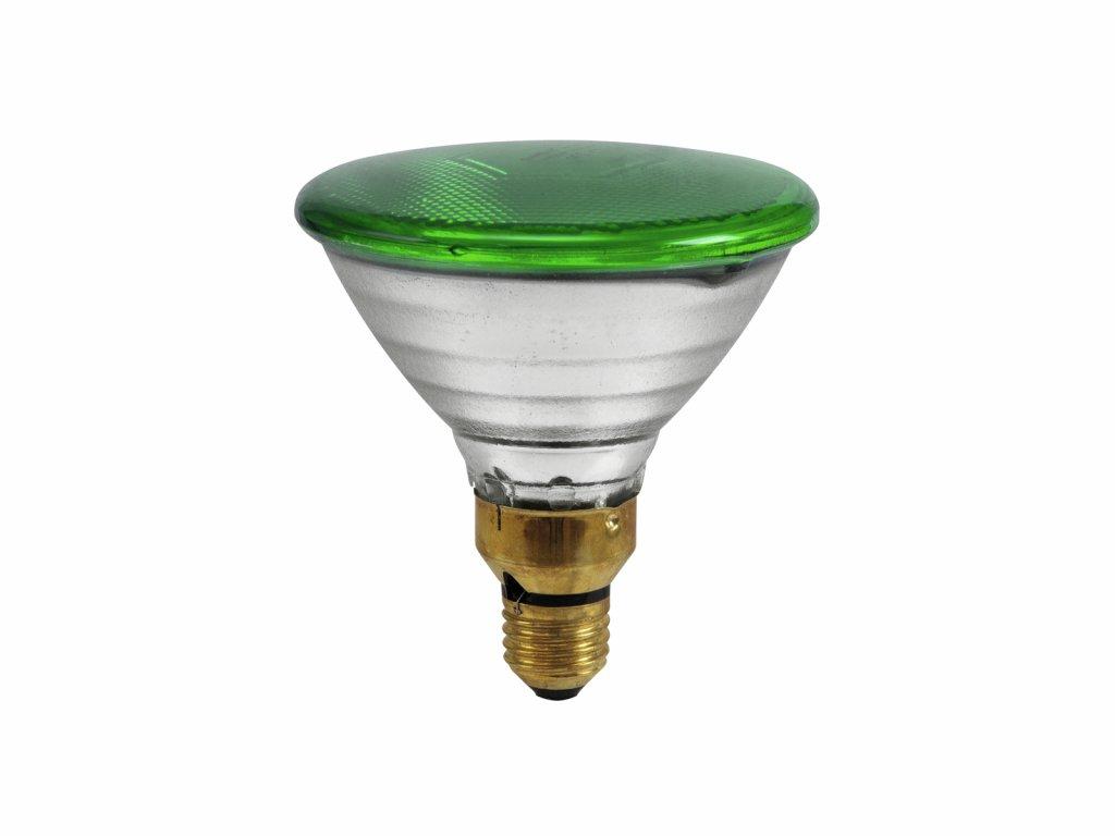 PAR 38 230V/80W FL E27 Omnilux zelená