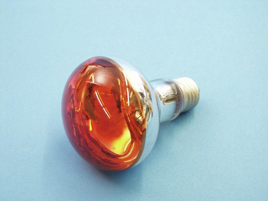 230V/60W E27 Omnilux, oranžová